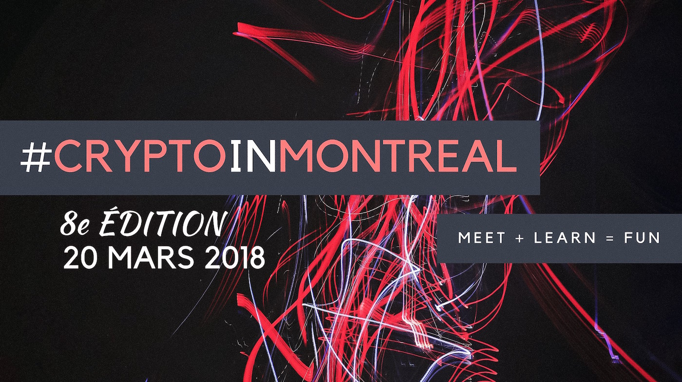 Une introduction aux cryptomonnaies | 8e édition de #CryptoInMontreal