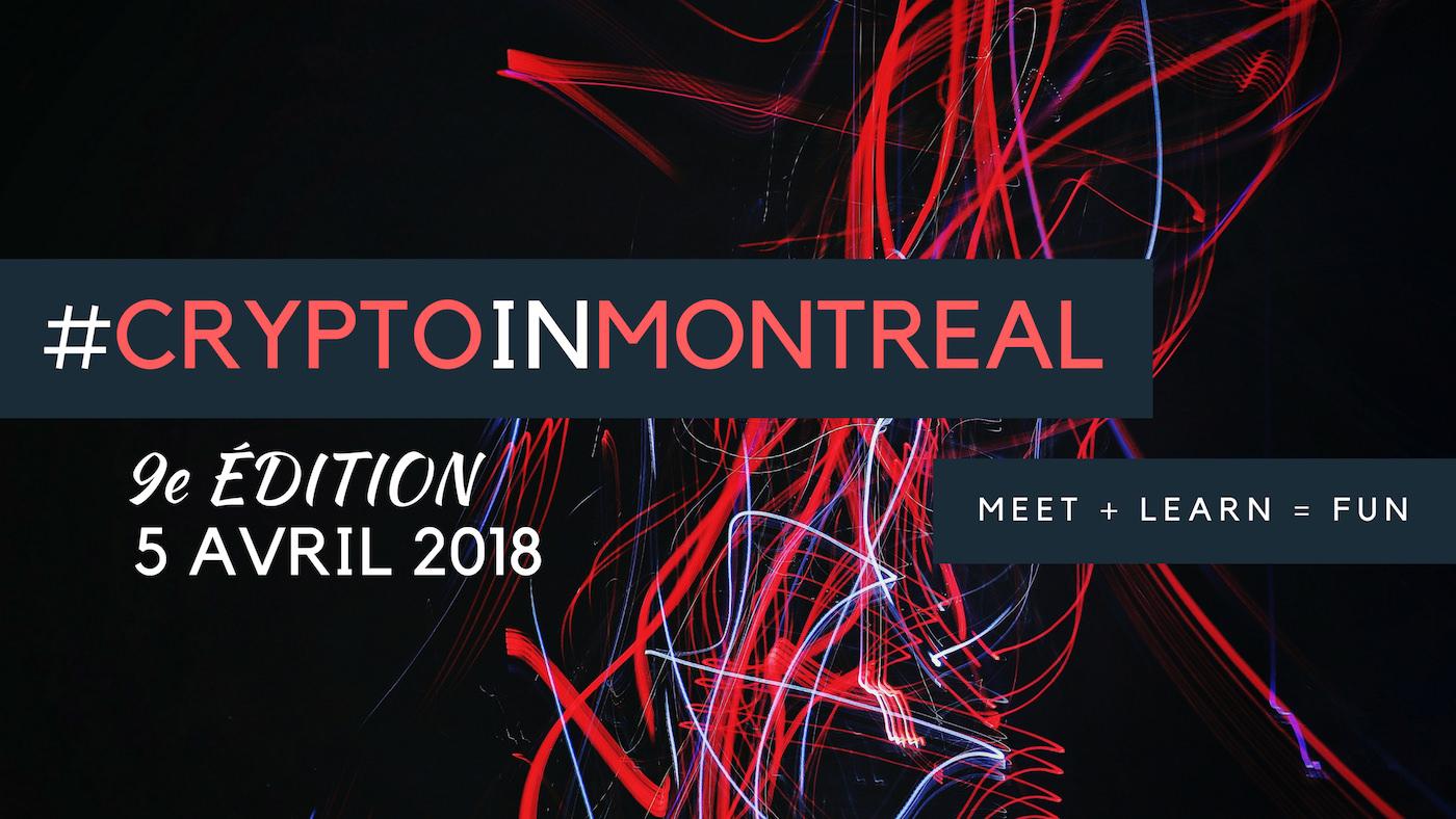 Blockchain et cryptomonnaies | 9e édition de #CryptoInMontreal