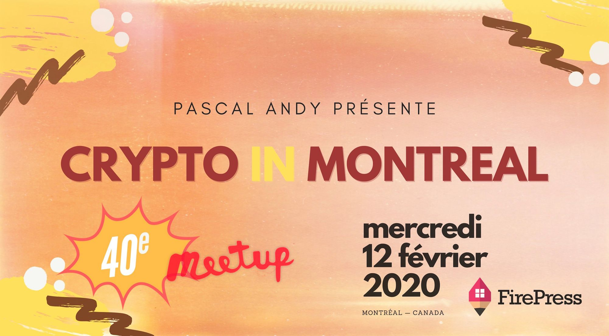 « Le futur est maintenant ». Une Introduction Au Blockchain et Aux Cryptos | CryptoInMontreal #40